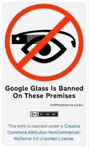 GoogleGlassBanned